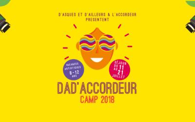 DAD'ACCORDEUR CAMP 2018