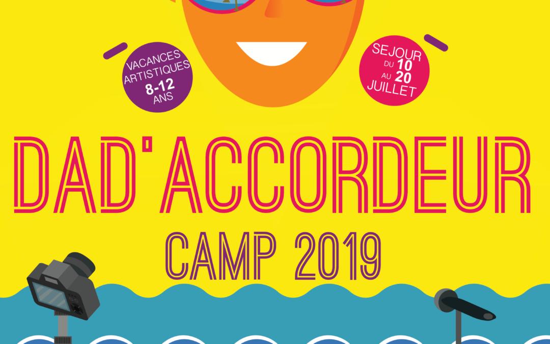 Ouverture du DAD'ACCORDEUR CAMP 2019